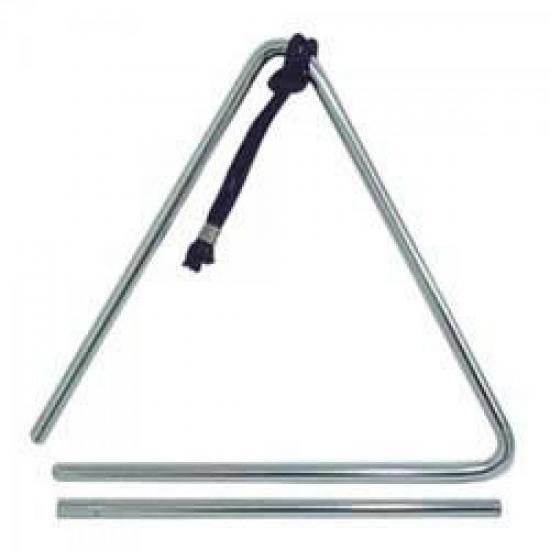Triângulo Cromado 20cm T77 QUIRINO (10300)