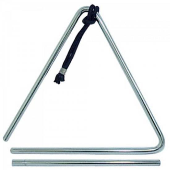 Triângulo Cromado 25cm T78 QUIRINO (10301)