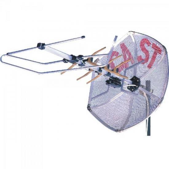 Antena M3000 VHF/UHF Fixa Externa CASTELO (1050)