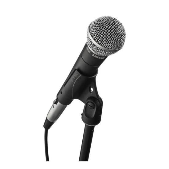 Microfone Profissional Com Fio Dinâmico SM58-LC SHURE