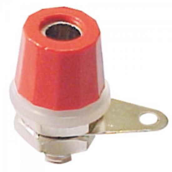 Borne Pequeno B0508 Vermelho FUSIBRAS