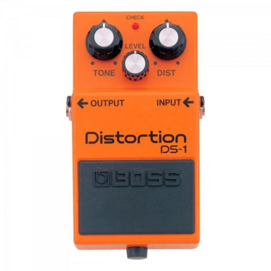 Pedal Distortion DS1 Laranja BOSS
