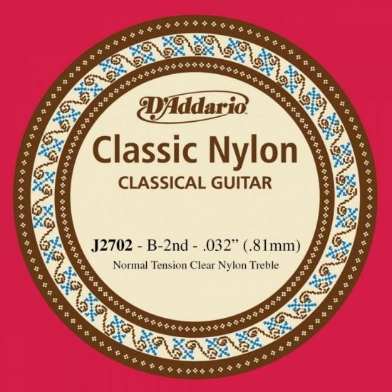 Corda para Violão J2702 SI Nylon D'ADDARIO