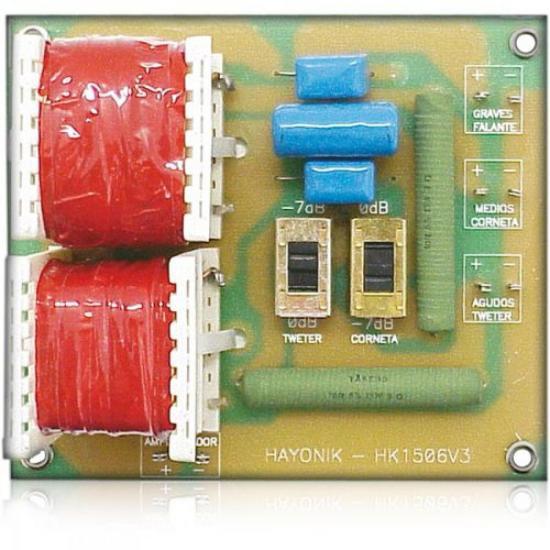 Divisor de Frequência 3 Vias 6Db 250W HAYONIK