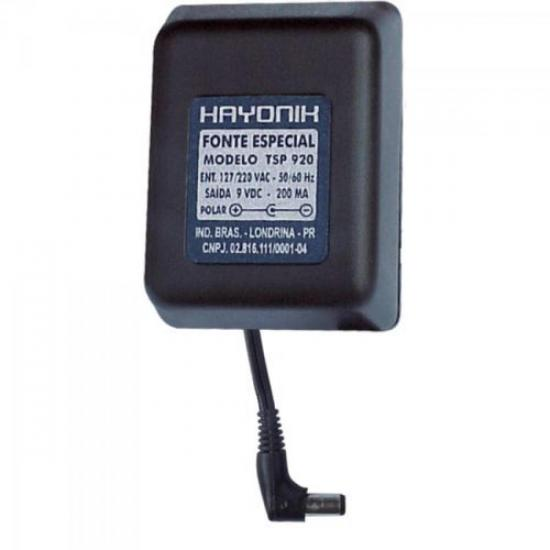 Fonte Telefone sem Fio Panasonic 9VDC 200mA TSP-920 HAYONIK