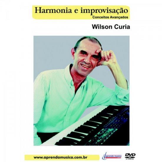 DVD Aula Harmonia e Improvisação Avançado WILSON CURIA (17670)