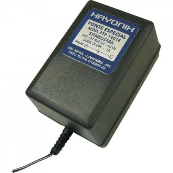 Fonte Para Mini Câmera FTP1201EC 12VDC 1A HAYONIK