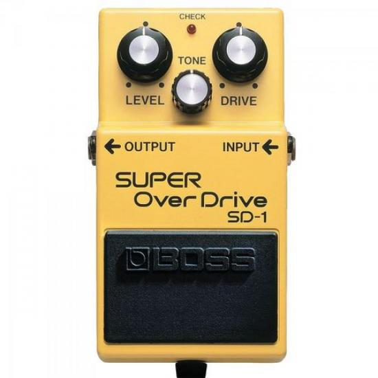 Pedal Super Overdrive SD1 BOSS