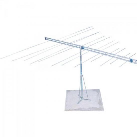 Antena PQVT1003 Para TV VHF LOG Alto Ganho Profissional PROELETRONIC