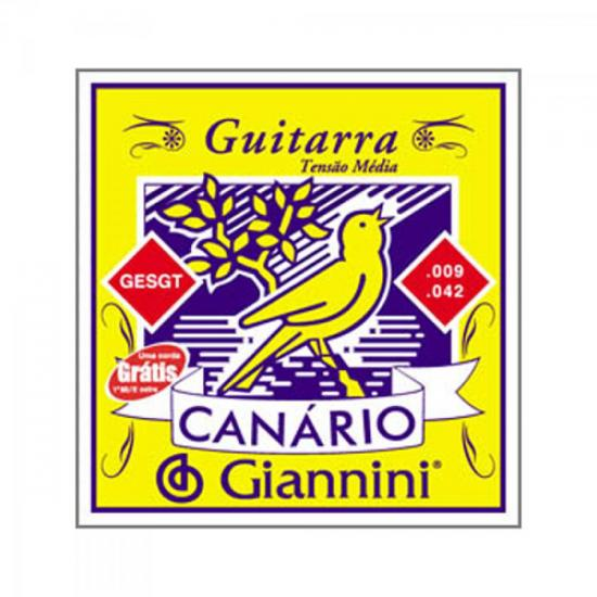 Encordoamento Para Guitarra GESGT 0.09 GIANNINI