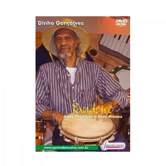 DVD Aula Técnicas e Ritmos Para Pandeiro DINHO GONÇALVES (20634)