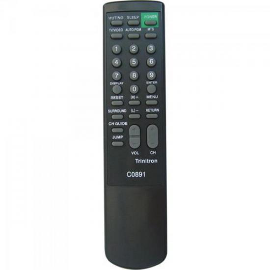 Controle Remoto para TV SONY TRINITRON RM861 GENÉRICO
