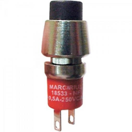 Chave Pushbutton N/F 18533 GFDSTSE C/Acabamento MARGIRIUS