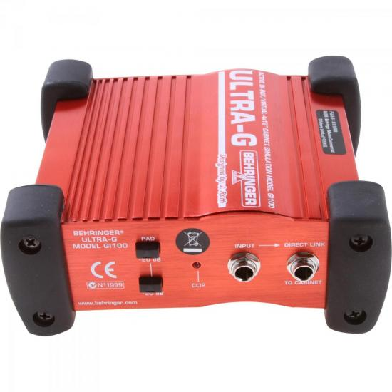Direct Box Ativo para Guitarra GI100 BEHRINGER
