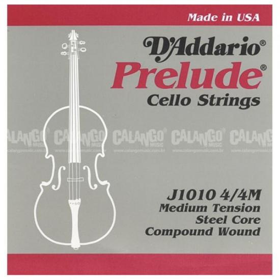Encordamento Para Cello Prelude 4/4 J1010 D`ADDARIO