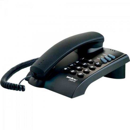 Telefone com Fio Pleno sem Chave Grafite INTELBRAS