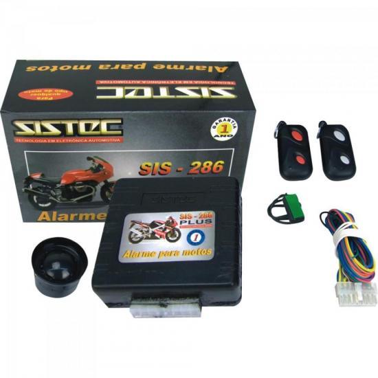Alarme para Motocicletas SIS286 SISTEC (28326)