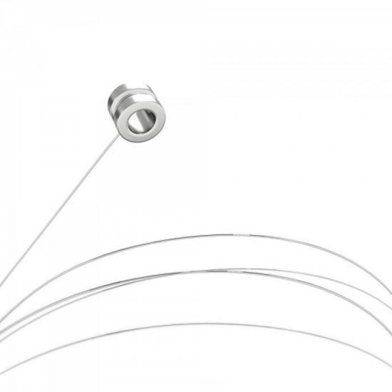 Corda para Violão Aço com Bolinha 1a MI GESWB1 Série Canário GIANNINI (28718)