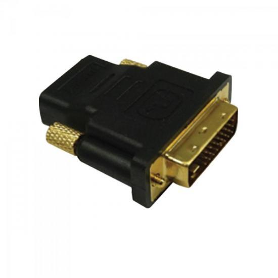 Adaptador DVI Macho para HDMI Fêmea GENÉRICO