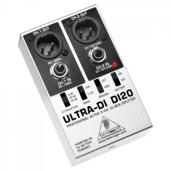 Direct Box Spliter Profissional DI20 BEHRINGER (29121)