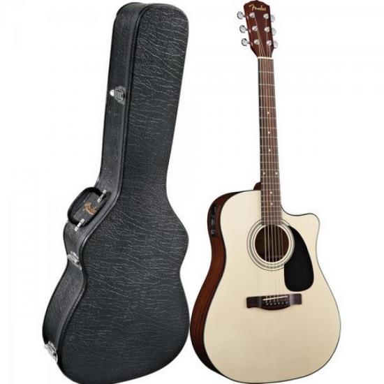Violão Fender CD-60CE Eletroacústico Folk Natural Aço