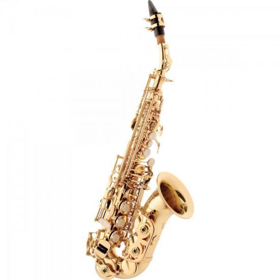 Saxofone Soprano Curvo Bb SP508 Laqueado EAGLE