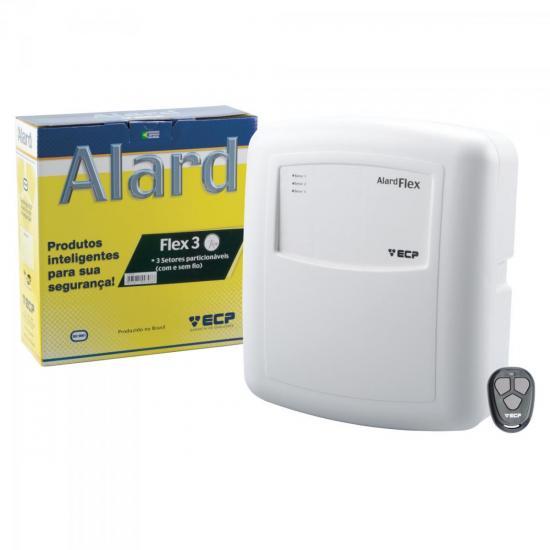 Central Alarme 3 Setores AlardFlex 3 ECP (30827)