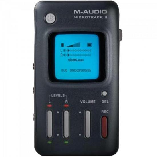 Gravador digital portátil profissional MICRO TRACK II M-AUDIO