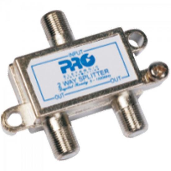 Divisor Antena VHF/UHF/CATV 1/2 PQDV-1022 PROELETRONIC