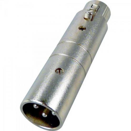 Adaptador XLR M x XLR F CA301 HYX