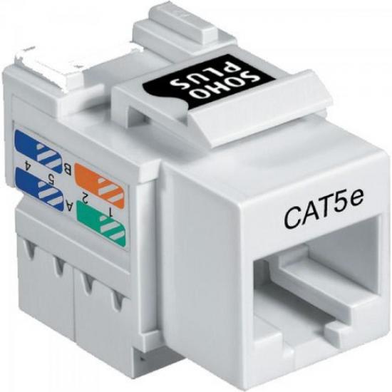 Conector Fêmea CAT5e T568A/B FURUKAWA SOHOPLUS