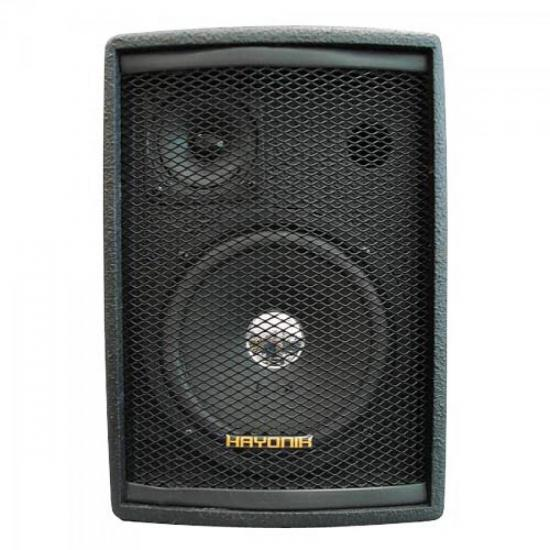 Caixa Acústica Ambience Line Preta SA520 HAYONIK