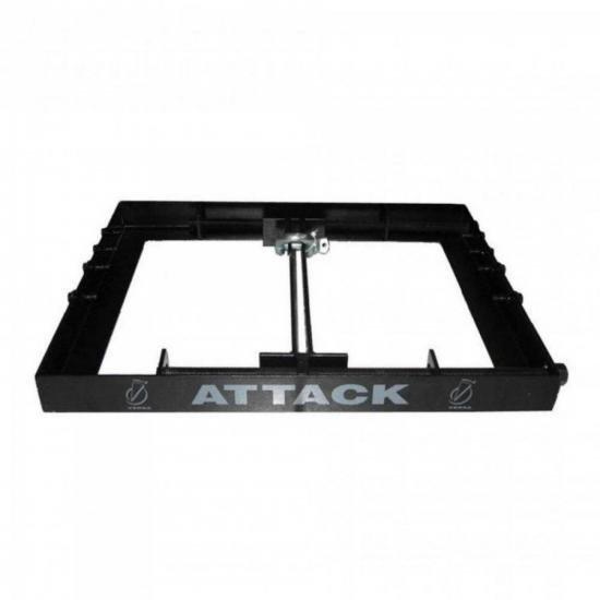 Bumper Attack Versa 206/112 Preto VERSA