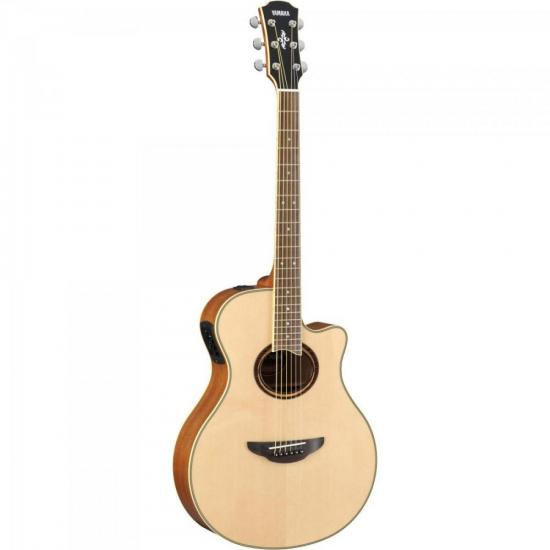 Violão Yamaha APX700II Eletroacústico Natural Aço