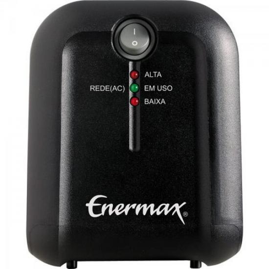 Estabilizador 500VA Bivolt EXS II POWER T Preto ENERMAX