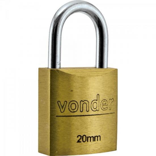 Cadeado Latão VD-20 20mm VONDER (37042)