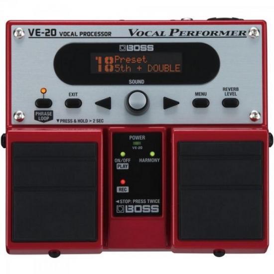 Pedal Para Voz Processador Vocal VE20 BOSS