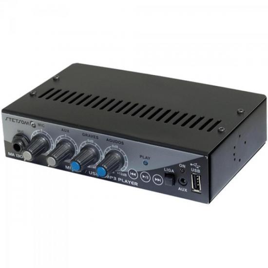 Mixer para Pen Drive/MP3/MP4 c/USB MA1300 STETSOM (37658)