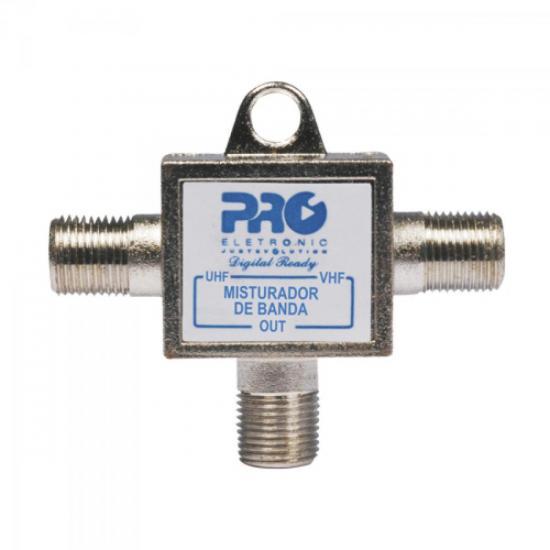 Misturador VHF + UHF PQMB2300A PROELETRONIC