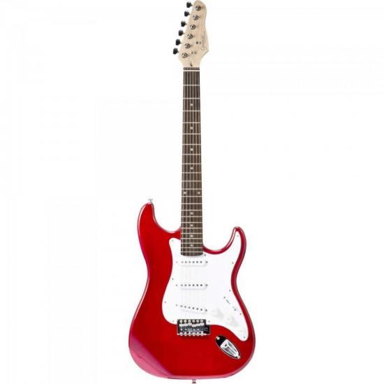 Guitarra Strato G-100 Vermelha GIANNINI