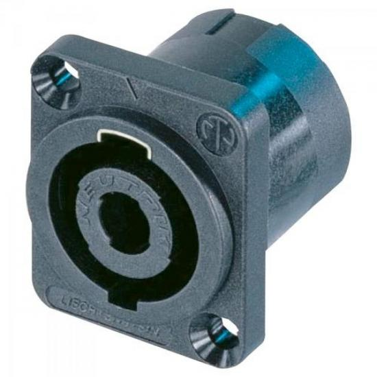 Conector Speakon Macho Plástico 4 Polos NL4MP NEUTRIK