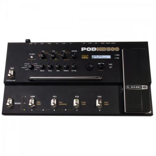 Pedaleira Modeladora de Amplificadores + 80 Efeitos Para Guitarra POD (38714)