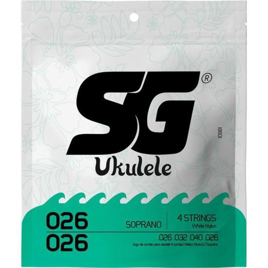 Encordoamento para Ukulele em Nylon Soprano SG
