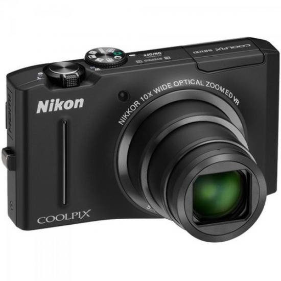 Câmera Digital 12.1MP Coolpix S8100 Preta NIKON (43983)