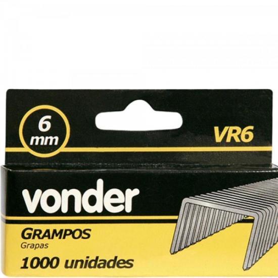 Grampo 6MM VR-6 C/1000 VONDER (44026)