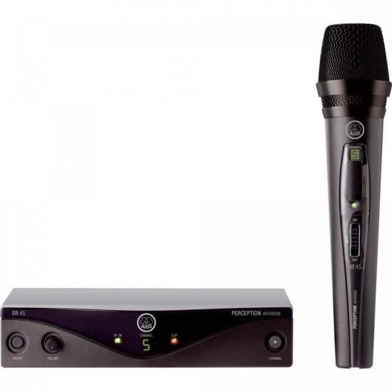 Microfone Wireless PW45 VSET A Preto AKG