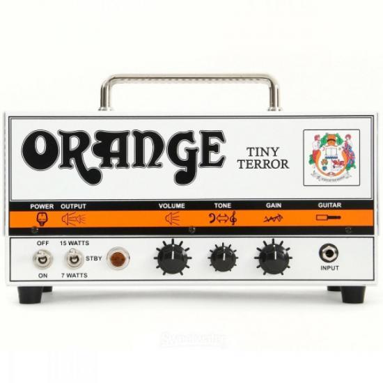 Cabeçote Amplificador Valvulado 15W TINY TERROR Branco ORANGE (45021)