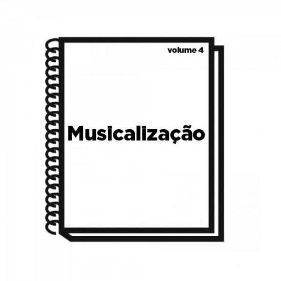 Livro de Musicalização Volume 4 TÂNIA VAZ (46283)
