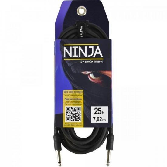 Cabo para Guitarra Ninja 7,5 Metros P10 SANTO ANGELO