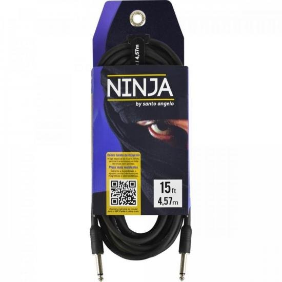 Cabo para Guitarra Ninjah 4,5 Metros P10 SANTO ANGELO